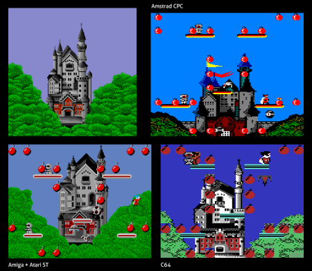 BombJack-Neuschwanstein-Arcade-CPC-Amiga-C64